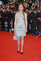 """Bonnie Wright attending the """"Cosmopolis"""" Premiere during the 65th annual International Cannes Film Festival in Cannes, France, 25.05.2012...Credit: Timm/face to face /MediaPunch Inc. ***FOR USA ONLY***"""