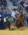 Justin Maass during the RFDTV American. Photo by Andy Watson