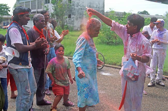 Holi Celebration, Paramaribo, Surinam