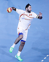 Spain's Joan Canellas during 23rd Men's Handball World Championship preliminary round match.January 14,2013. (ALTERPHOTOS/Acero) /NortePhoto