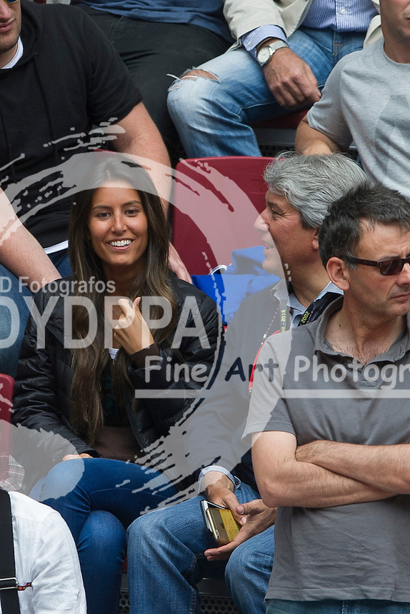 Verdasco's girlfriend Ana Boyer Preysler (Ana is Enrique Iglesias' sister in law)