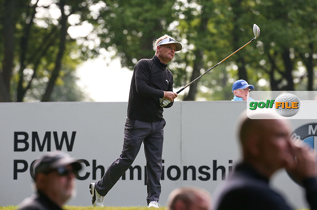 Soren Kjeldsen (DEN) during Round Two of the 2016 BMW PGA Championship over the West Course at Wentworth, Virginia Water, London. 27/05/2016. Picture: Golffile | David Lloyd. <br /> <br /> All photo usage must display a mandatory copyright credit to &copy; Golffile | David Lloyd.