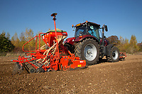 Drilling Winter Wheat in Rutland<br /> &copy;Tim Scrivener Photographer 07850 303986<br />      ....Covering Agriculture In The UK....