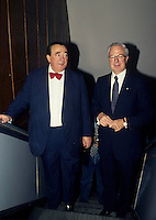 Montreal (Qc) Canada  file Photo - 1988 -- LiRobert Maxwell, <br /> <br /> , Andre Bisson