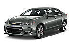 2017 Chevrolet SS 6.2 4 Door Sedan Angular Front stock photos of front three quarter view