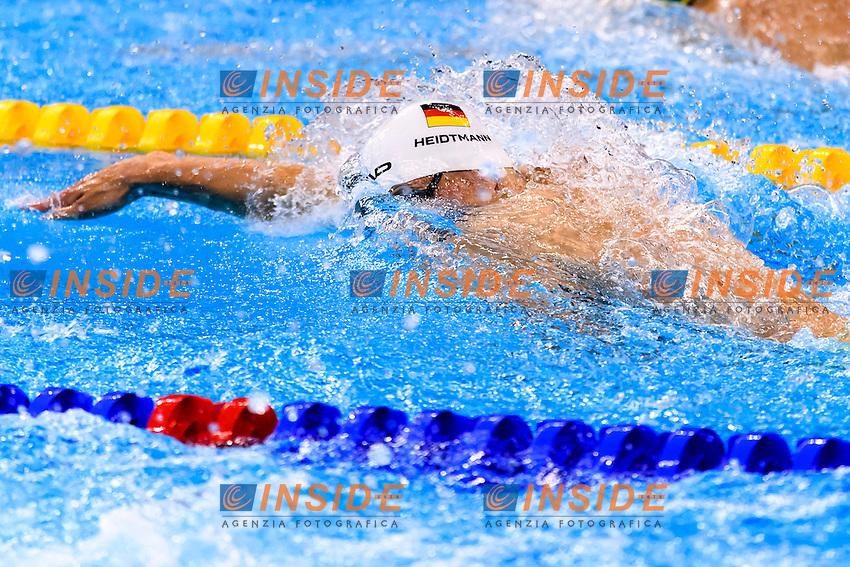 HEIDTMANN Jacob GER Men's 4x200 Freestyle Relay <br /> Rio de Janeiro 09-08-2016 Olympic Aquatics Stadium <br /> Swimming Nuoto <br /> Foto Andrea Staccioli/Deepbluemedia/Insidefoto