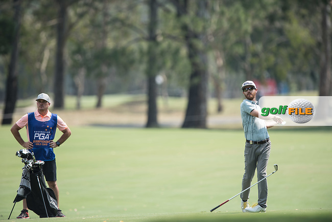 Nick Flanagan (NZL) during the final round of the Australian PGA Championship, Royal Pines Resort Golf Course, Benowa, Queensland, Australia. 02/12/2018<br /> Picture: Golffile   Anthony Powter<br /> <br /> <br /> All photo usage must carry mandatory copyright credit (&copy; Golffile   Anthony Powter)