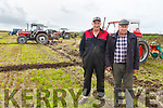 Thomas and Tony Wharton (Killarney Ploughing Association) at the ploughing in Causeway on Sunday.