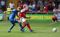 Photographer Stephen White/CameraSport<br /> <br /> The EFL Sky Bet League One - Fleetwood Town v AFC Wimbledon - Saturday 4th August 2018 - Highbury Stadium - Fleetwood<br /> <br /> World Copyright &copy; 2018 CameraSport. All rights reserved. 43 Linden Ave. Countesthorpe. Leicester. England. LE8 5PG - Tel: +44 (0) 116 277 4147 - admin@camerasport.com - www.camerasport.com