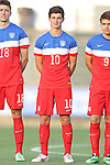 20 May 2014: USA Under-20's Andrija Novakovich. The Under-20 United States Men's National Team played a scrimmage against a team composed of players from the Carolina RailHawks and the Capital Area RailHawks Academy Under-18 squad WakeMed Stadium in Cary, North Carolina. The combined RailHawks team won the game 2-1.