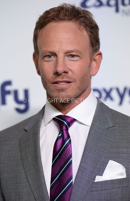 WWW.ACEPIXS.COM<br /> May 15, 2014 New York City<br /> <br /> Ian Ziering attending NBCUniversal Cable Entertainment Upfront at the Javits Center in New York City on Thursday, May 15, 2014.<br /> <br /> Please byline: Kristin Callahan/ACE Pictures<br /> <br /> ACEPIXS.COM<br /> <br /> Tel: (212) 243 8787 or (646) 769 0430<br /> e-mail: info@acepixs.com<br /> web: http://www.acepixs.com