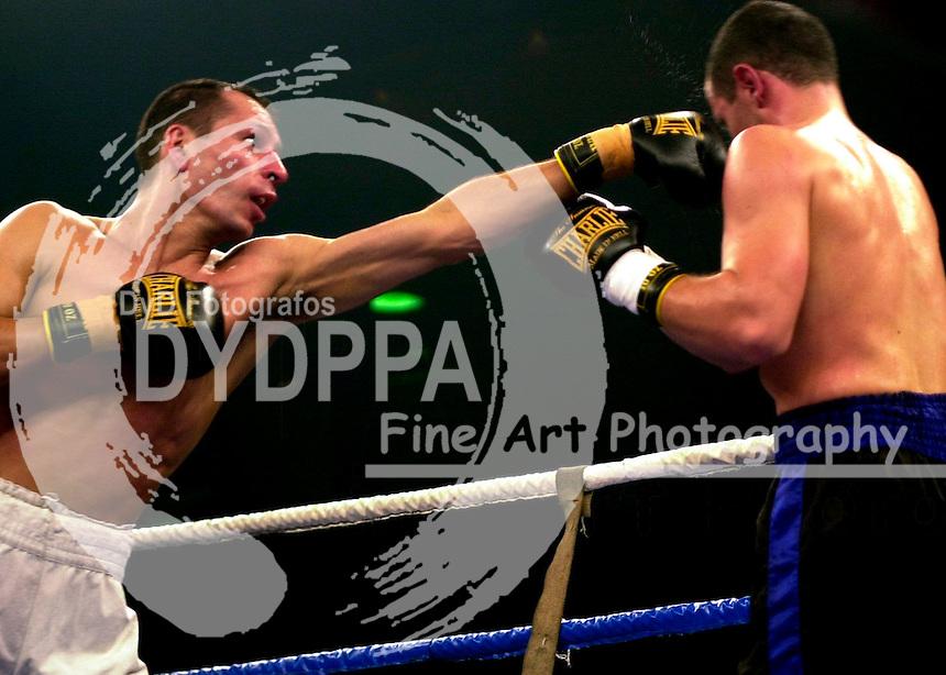 03/03/2001. Boxing combat. (c) Eduardo Dieguez/ DyD Fotografos