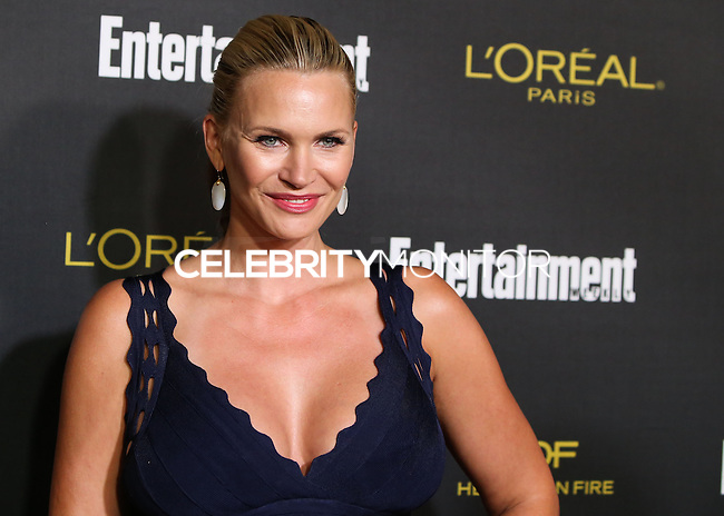 WEST HOLLYWOOD, CA, USA - AUGUST 23: Natasha Henstridge arrives at the 2014 Entertainment Weekly Pre-Emmy Party held at the Fig & Olive on August 23, 2014 in West Hollywood, California, United States. (Photo by Xavier Collin/Celebrity Monitor)