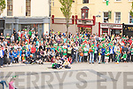 CROWD: You would'nt get a crowd like it anywhere as the Square had the biggest crowd to watch the KIreland V Croiata on the big screen in The Square Tralee on Sunday evening.....