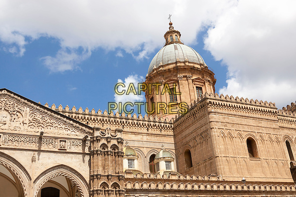 Palermo Cathedral, Palermo, Sicily, Italy<br /> August 2015<br /> CAP/MEL<br /> &copy;MEL/Capital Pictures