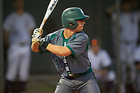 Saint Leo Lions shortstop Derek Gibree (4) at bat during a game against the Northwestern Wildcats on March 4, 2016 at North Charlotte Regional Park in Port Charlotte, Florida.  Saint Leo defeated Northwestern 5-3.  (Mike Janes/Four Seam Images)