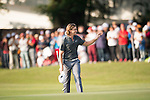 Tommy Fleetwood of England walks on the 18th hole during the 58th UBS Hong Kong Golf Open as part of the European Tour on 11 December 2016, at the Hong Kong Golf Club, Fanling, Hong Kong, China. Photo by Marcio Rodrigo Machado / Power Sport Images