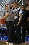 Nevada head coach Eric Musselman reacts after a foul is called in first half an NCAA college basketball game against San Jose State in Reno, Nev., Wednesday, Jan. 9, 2019. (AP Photo/Tom R. Smedes)