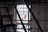 St. Mary's church restoration project. August 14, 2008. (James J. Lee / J.Lee Photography LLC)