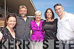 Helen Slattery David, Judy, Rosin Couchman and Aidan Foley from Ardfert and Kilflynn at Listowel Races on Sunday.