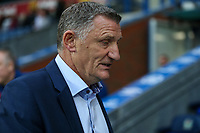 Blackburn Rovers manager Tony Mowbray <br /> <br /> Photographer Andrew Kearns/CameraSport<br /> <br /> The EFL Checkatrade Trophy - Blackburn Rovers v Stoke City U23s - Tuesday 29th August 2017 - Ewood Park - Blackburn<br />  <br /> World Copyright &copy; 2018 CameraSport. All rights reserved. 43 Linden Ave. Countesthorpe. Leicester. England. LE8 5PG - Tel: +44 (0) 116 277 4147 - admin@camerasport.com - www.camerasport.com