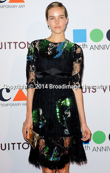 Pictured: Isabel Lucas<br /> Mandatory Credit &copy; Adhemar Sburlati/Broadimage<br /> MOCA's 35th Anniversary Gala Presented By Louis Vuitton<br /> <br /> 3/29/14, Los Angeles, California, United States of America<br /> <br /> Broadimage Newswire<br /> Los Angeles 1+  (310) 301-1027<br /> New York      1+  (646) 827-9134<br /> sales@broadimage.com<br /> http://www.broadimage.com