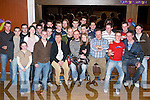 21ST: Michael Breen of Castlemaine (seated front centre) at his 21st birthday party in The Grand Hotel, Tralee, on Friday evening, along with family and friends..
