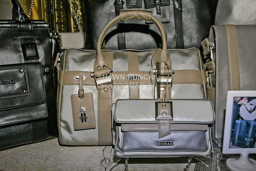 Gunas handbags by Sugandh, displayed during Nolcha Fashion Week Spring 2011, September 14, 2010.