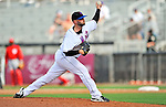 28 February 2011: New York Mets pitcher Taylor Tankersley on the mound against the Washington Nationals at Digital Domain Park in Port St. Lucie, Florida. The Nationals defeated the Mets 9-3 in Grapefruit League action. Mandatory Credit: Ed Wolfstein Photo