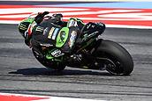 8th September 2017, Misano World Circuit, Misano Adriatico, San Marino; San Marino MotoGP, Friday free practice; Johann Zarco (Monster Yamaha Tech 3) the free practice sessions