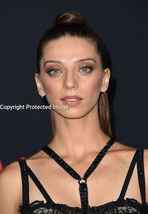 Angela Sarafyan @ the premiere of 'The Accountant' held @ the Chinese theatre in Hollywood, USA, October 10, 2016. # 'THE ACCOUNTANT' PREMIERE IN HOLLYWOOD