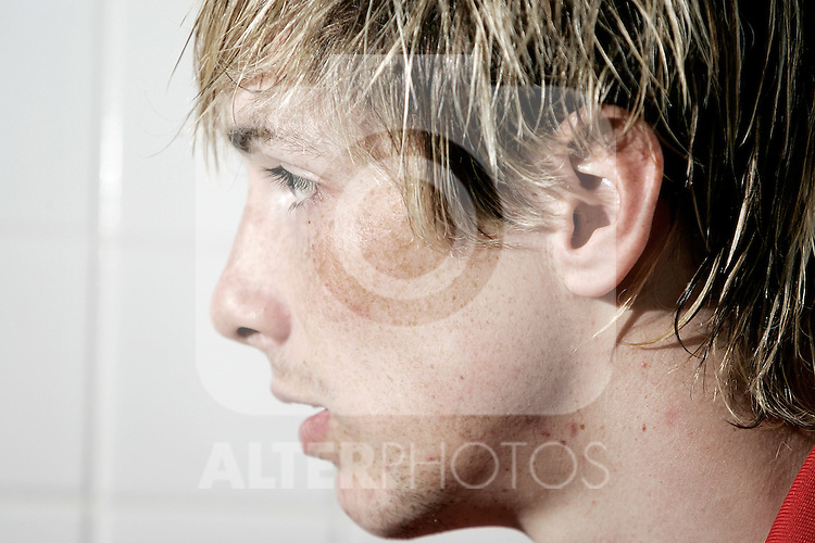 Spain's national team Fernando Torres during a portrait session. March 25, 2009. (ALTERPHOTOS/Alvaro Hernandez)