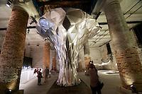 """13th Biennale of Architecture..Arsenale..Zaha Hadid. """"Aurum"""", 2012."""