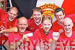 SEASON TICKET: Members of Castleisland Manchester United Supporters Club celebrate receiving a season ticket.for Old Trafford. L-r: Trevor Farrelly, Domo Ciarbhain, Eddie Regan, JJ Reidy, John Culloty and Noel Tarrant.