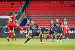 Tim Kleindienst (1. FC Heidenheim 1846 #10), Marco Friedl (Werder Bremen #32)<br /> <br /> <br /> Sport: nphgm001: Fussball: 1. Bundesliga: Saison 19/20: Relegation 02; 1.FC Heidenheim vs SV Werder Bremen - 06.07.2020<br /> <br /> Foto: gumzmedia/nordphoto/POOL <br /> <br /> DFL regulations prohibit any use of photographs as image sequences and/or quasi-video.<br /> EDITORIAL USE ONLY<br /> National and international News-Agencies OUT.