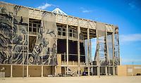 RIO DE JANEIRO, RJ, 05.02.2017 - PARQUE OLÍMPICO-RJ - Instalações do Parque Olímpico da Barra apresentando aspecto de abandono, após 4 meses dos jogos, na zona oeste do Rio de Janeiro, na manhã deste domingo (05). (Foto: Jayson Braga / Brazil Photo Press)