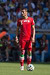 Amirhossein Sadeghi (IRI), JUNE 21, 2014 - Football / Soccer : FIFA World Cup Brazil 2014 Group F match between Argentina 1-0 Iran at Estadio Mineirao in Belo Horizonte, Brazil. (Photo by Maurizio Borsari/AFLO)