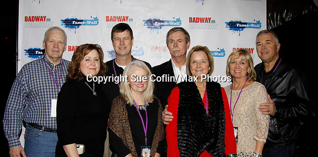 Dee Helm and friends - New Year's Eve 2016 and Times Square Ball Drop at The Copacabana, New York City, New York. (Photo by Sue Coflin/Max Photos)  suemax13@optonline.net