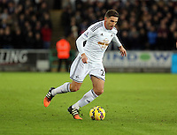 Pictured: Angel Rangel of Swansea Saturday 10 January 2015<br />