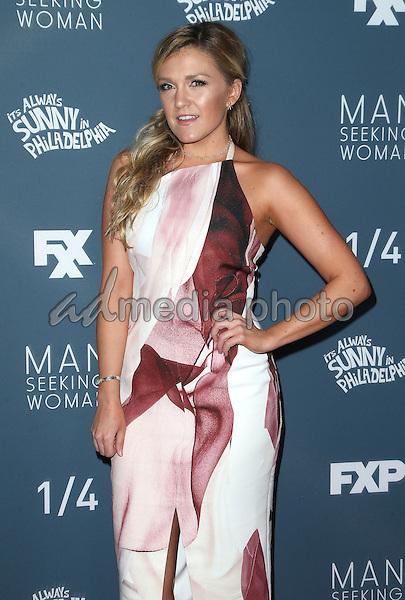 "03 January 2017 - Los Angeles, California - Jessica Lowe. Premiere Of FXX ""It's Always Sunny In Philadelphia"" Season 12 And ""Man Seeking Woman"" Season 3 held at Fox Bruin Theatre. Photo Credit: F. Sadou/AdMedia"