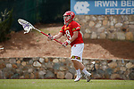 2017 March 25: Dan Morris #8 of Maryland Terrapins during a 15-7 win over the North Carolina Tar Heels at Fetzer Field in Chapel Hill, NC.