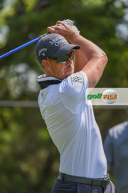 Henrik Stenson (SWE) watches his tee shot on 2 during day 1 of the WGC Dell Match Play, at the Austin Country Club, Austin, Texas, USA. 3/27/2019.<br /> Picture: Golffile | Ken Murray<br /> <br /> <br /> All photo usage must carry mandatory copyright credit (© Golffile | Ken Murray)