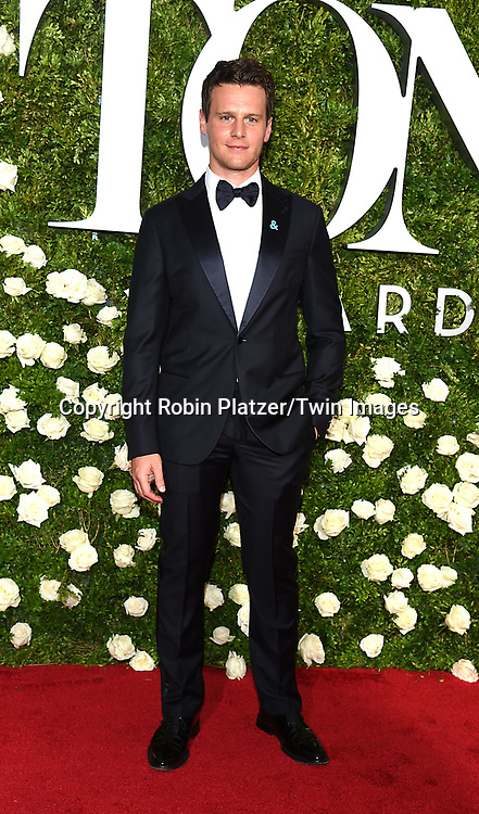 Jonathan Groff attends the 71st Annual  Tony Awards on June 11, 2017 at Radio City Music Hall in New York, New York, USA.<br /> <br /> photo by Robin Platzer/Twin Images<br />  <br /> phone number 212-935-0770