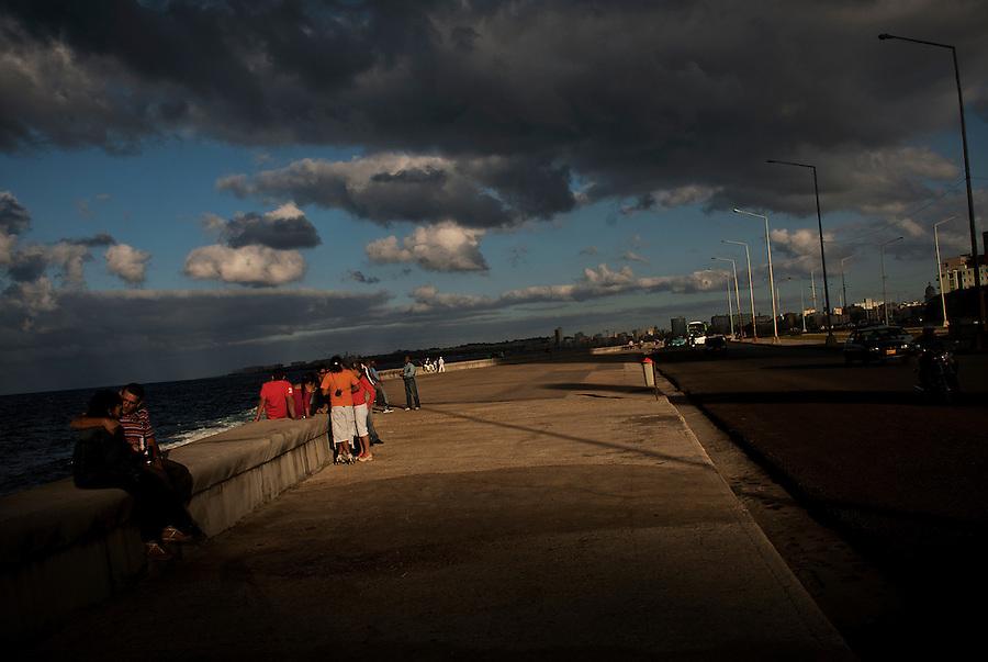 El Malecon, Havana, Cuba.