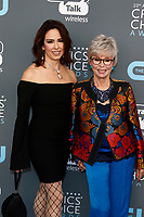 Rita Moreno (r) and daughter Fernanda Luisa Gordon attend the 23rd Annual Critics' Choice Awards at Barker Hangar in Santa Monica, Los Angeles, USA, on 11 January 2018. Photo: Hubert Boesl - NO WIRE SERVICE - Photo: Hubert Boesl/dpa /MediaPunch ***FOR USA ONLY***
