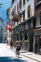 Schweiz, Chur, Altstadt.