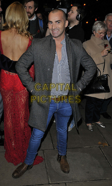 LONDON, ENGLAND - NOVEMBER 03: Louie Spence attends the &quot;Dance 'Til Dawn&quot; press night performance, Aldwych Theatre, Aldwych, on Monday November 03, 2014 in London, England, UK. <br /> CAP/CAN<br /> &copy;Can Nguyen/Capital Pictures