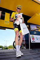 TROYES, FRANCE - JULY 6 : FROOME Christopher (GBR) Rider of Team SKY during stage 6 of the 104th edition of the 2017 Tour de France cycling race, a stage of 216 kms between Vesoul and Troyes on July 06, 2017 in Troyes, France, 6/07/2017 <br /> Ciclismo Tour De France 2017 <br /> Foto Photonews / Panoramic / Insidefoto <br /> ITALY ONLY
