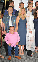 "Craig Roberts, Warwick Davis, Sarah Hadland and Jessica Swale at the ""Horrible Histories: The Movie - Rotten Romans"" world film premiere, Odeon Luxe Leicester Square, Leicester Square, London, England, UK, on Sunday 07th July 2019.<br /> CAP/CAN<br /> ©CAN/Capital Pictures"