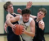 Rochester Hills Stoney Creek at Birmingham Groves, Boys Varsity Basketball, 2/3/17